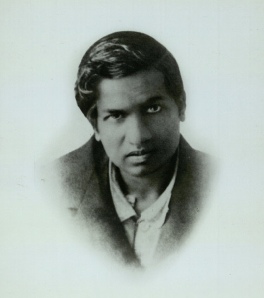 Ramanujan, February 1919 (Source: Trinity College Library)